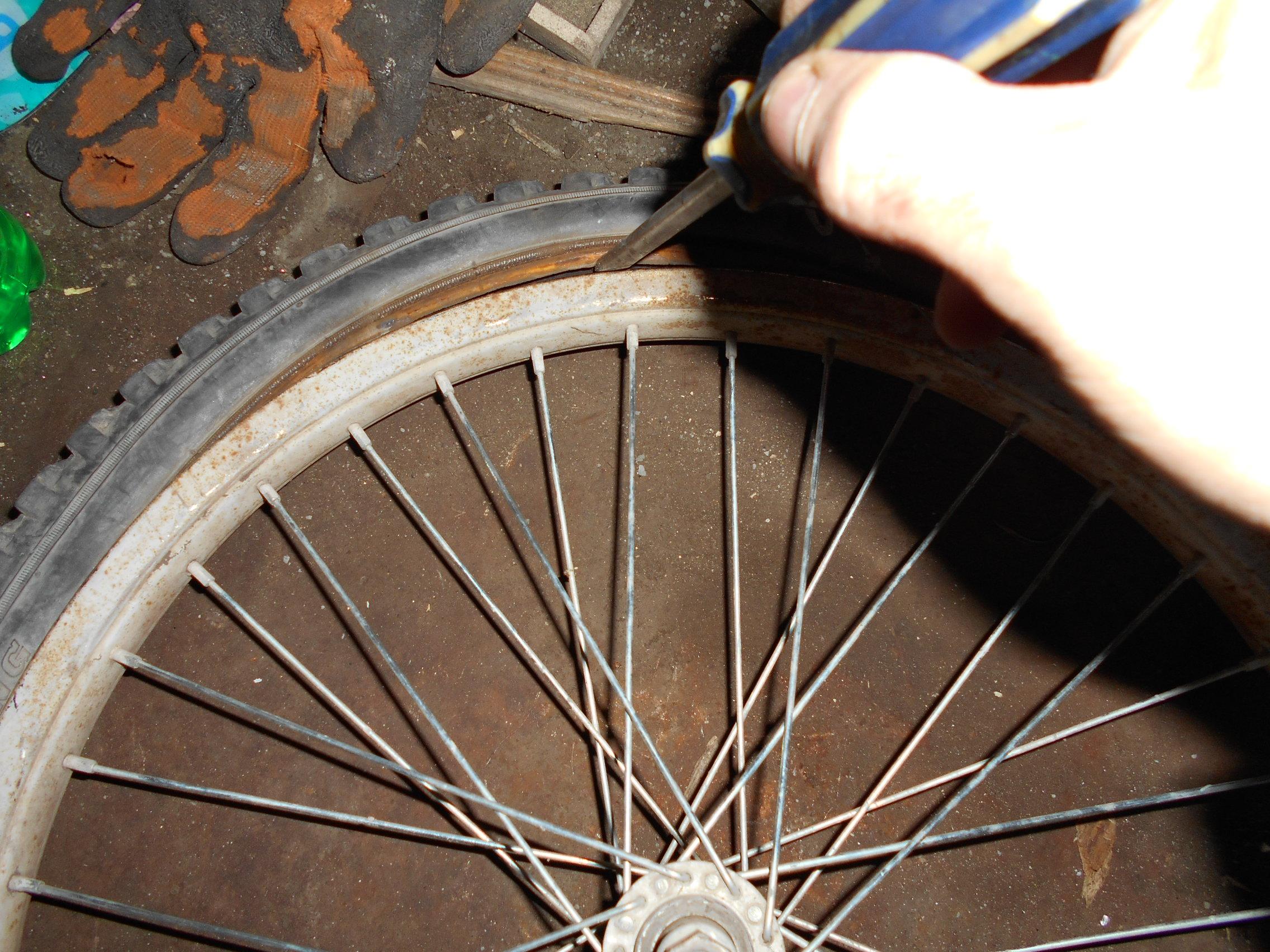Как заклеить шину: варианты проколов, мастер-класс 36
