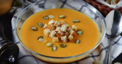 Классический тыквенный суп пюре, бабушкин рецепт